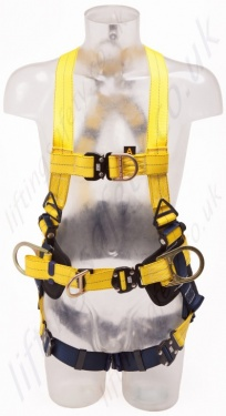 Sala Delta Harness With Belt  Quick Connect Buckles And Central Belt D Ring