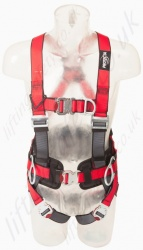 "Protecta ""Pro"" Fall Arrest Harness with Belt, Front and Rear Attachment Point, Size: S to XL"