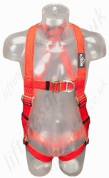 "Protecta ""Pro"" Welder Harness with Rear and Sternal 'D' Ring, Size: S to XL"