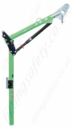 Sala 'Long' One Piece Adjustable Offset Davit Mast - Height Options: 2.2 to 3.4m