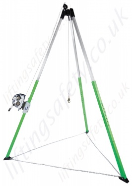8563158 8563159 Sala Aluminium Tripod With Winch