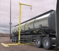 "Sala ""FlexiGuard SafRig"" Lorry / Tanker Height Access and Fall Arrest System with Outrigger Base, 6.1m Anchor Height"