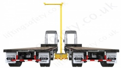 "Sala ""FlexiGuard SafRig"" Lorry / Tanker Height Access and Fall Arrest System with Counterweight Base, 6.1m Anchor Height"