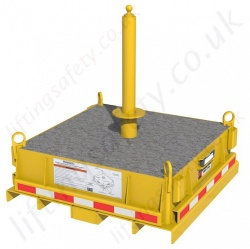 8560013 Flexiguard Emu Jib Base   Counterweight Base  Without Concrete Base