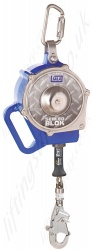 Sala Sealed Blok Cable Self Retracting Lifeline (SRL), with Optional Rescue Winch  - Length Options 4.5 to 9m