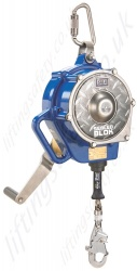 Sala Sealed Blok Cable Self Retracting Lifeline (SRL), RSQ and/or Rescue Winch  - Length: 15m