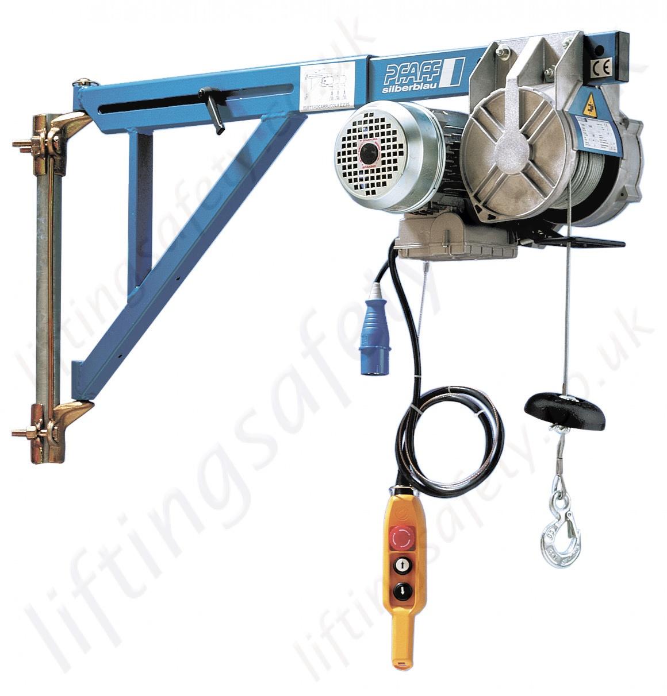 Electric Scaffold Hoist Lift : Pfaff silberblau ebw scaffold hoist winch capacity