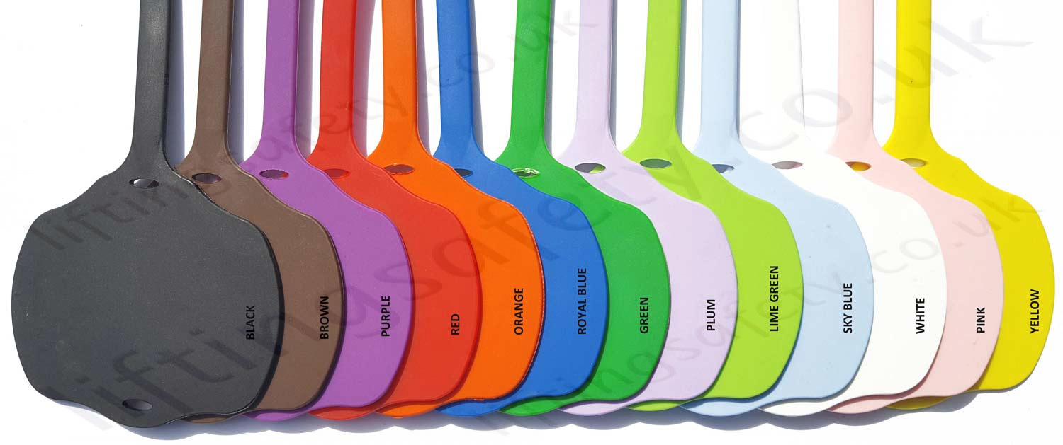 Rubber Tag Colours