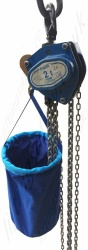 Tractel Tralift Chain Collector Bag, Capacity for up to 12m of chain.