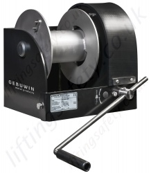"Gebuwin ""WW-D/MR Marine Series"" Hand Operated Worm Gear Winch, Range from 1500kg to 5000kg"