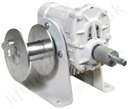 Gebuwin WA200 GR/D Worm Gear Battery Driven Winch, 200kg