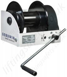 "Gebuwin ""WW Series"" Hand Operated Worm Gear Winch, Range from 250kg to 1500kg"