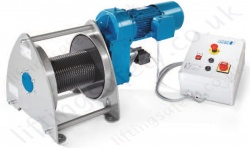 Pfaff BETA SL Electric Wire Rope Winch, Range 250kg to 2000kg
