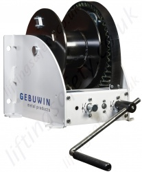 "Gebuwin ""WW-D-FS / WW-D-FSB"" Free Spool Hand Operated Worm Gear Winch, Range from 2000kg to 5000kg"