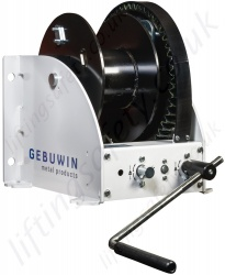 "Gebuwin ""WW-D"" Hand Operated Worm Gear Winch, Range from 2000kg to 7500kg"