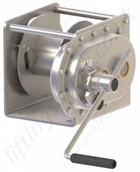 "Gebuwin ""TC Series"" Hand Operated Spur Gear Winch, Range from 1000kg to 1500kg"