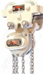 Tiger Corrosion Resistant Chain Hoist and Push Trolley Combination - Range: 500kg to 5000kg