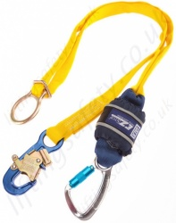 "Sala ""EZ-Stop"" Tie-Back Shock Absorbing Lanyard, Length 2m, Single or Twin Leg"