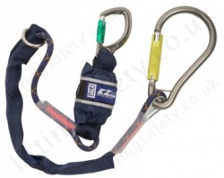 "Sala ""EZ-Stop"" Pear Hook Tie-Back Shock Absorbing Lanyard, Length 1.65m, Single or Twin Leg"
