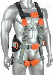 Zero Plus Isol Electrical Linesman Harness with Front Webbing Loops and Rear 'D' Ring