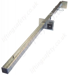 Zero 'AluDoor' Door Frame Adjustable Anchorage Point