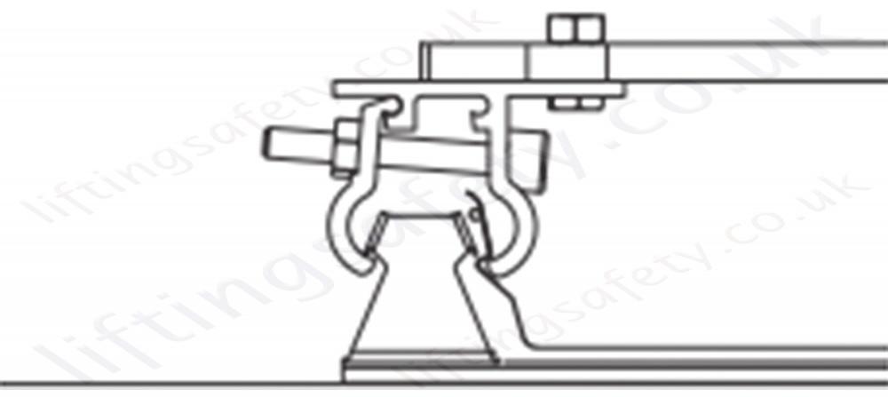 zero  u0026 39 spyda u0026 39  temporary roof anchor  screw fix or clamp on