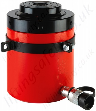 Hydraulic Cylinder With Lock Ring