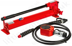 Hydraulic Lifting Cylinders and Pump Sets, Capacity Up to 109 Tonne