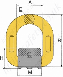 Weld On Lashing Point Dimensions