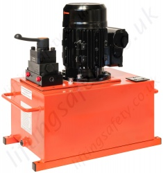 Medium Flow 700 Bar Electric Pump
