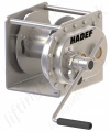 Hadef 194/17 Stainless Steel Manual Wire rope Hand Winch, 1000kg & 1500kg