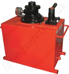 Air Driven Hydraulic Pumps, 700 Bar