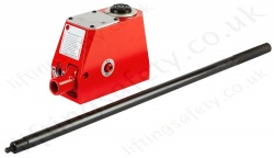 Aluminium Multi Purpose Super Jacks, 10,000kg, Stroke up to 125mm