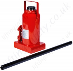 Steel Bottle Jacks, from 3000kg to 100,000kg, Stroke Length up to 195mm