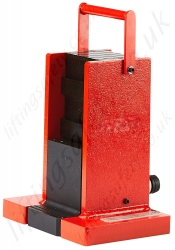 Steel Machine Lift Jacks, Range From 8,500kg to 20,000kg, Stroke 150mm