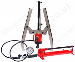 Heavy Duty Hydraulic Puller Kits, Range 4,500kg to 50,000kg