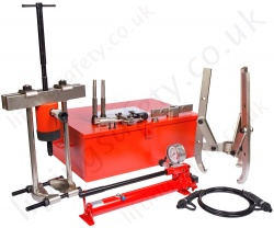 Multi-Purpose Hydraulic Puller Kits, Range 10,000kg to 50,000kg