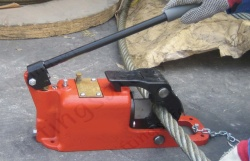 Pump Action Hydraulic Wire Rope Cutters, Dia. Range 19mm to 44mm