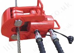 Heavy Duty Hydraulic Cutters, Capacities Up To 120 Tonne, and Up To 114mm Dia. Wire Rope