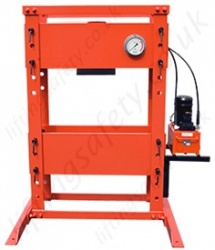 Manual/Electric Hydraulic Workshop Presses - Range from 10 to 200 Tonne