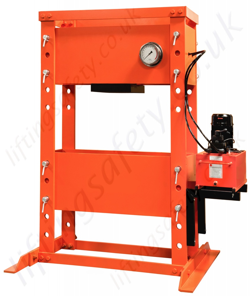 Powered Hydraulic Workshop Press