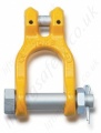 Grade 8 Clevis Shackle for use with 7mm to 16mm Lifting Chain