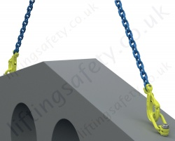Dlp Load Ring With Chain Sling Attached