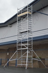 Compact Aluminium Scaffold Tower 0.6m to 6.1m Platform Heights