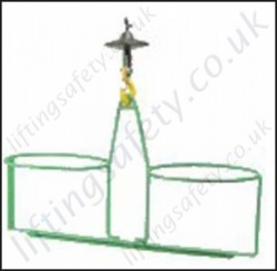 Bucket Carrier, for Lifting Bucket with Hoists - 70 kg to 150 kg Capacity