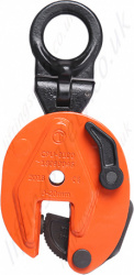 "Tiger ""CPU"" Vertical Lifting Plate Clamp - Range from 500kg to 5000kg"