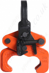 Tiger CRT Rail Section Lifting Clamp - 2000kg Capacity