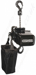 "GIS ""LP D8"" Entertainment Electric Chain Hoists, for General Rigging Purposes to D8 Guidelines, Range 125kg to 2500kg"