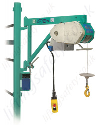 Imer ET200N Scaffold Hoist, 230 or 110v, 30m Working Height - 200kg Capacity