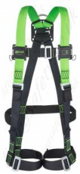 Miller H-Design Single Point Harness with Mating Buckles